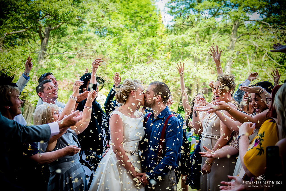 The Mill Barns wedding confetti