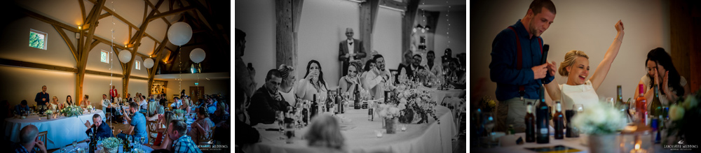 Wedding speeches at the Mill Barns Alveley