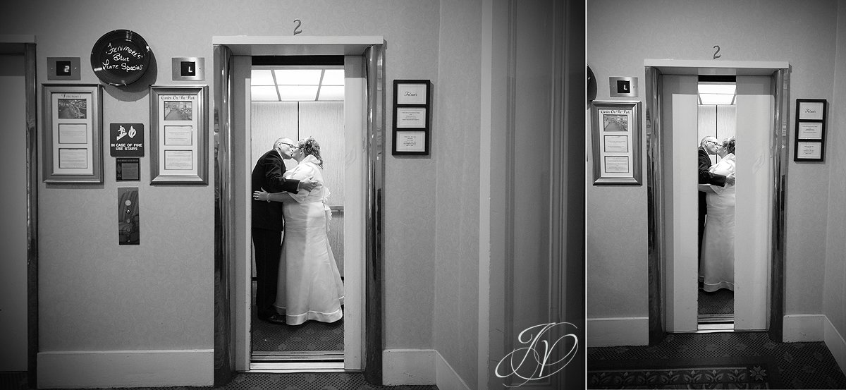 Wedding at The Queensbury Hotel, bride and groom night photo, Lake George Wedding Photographer