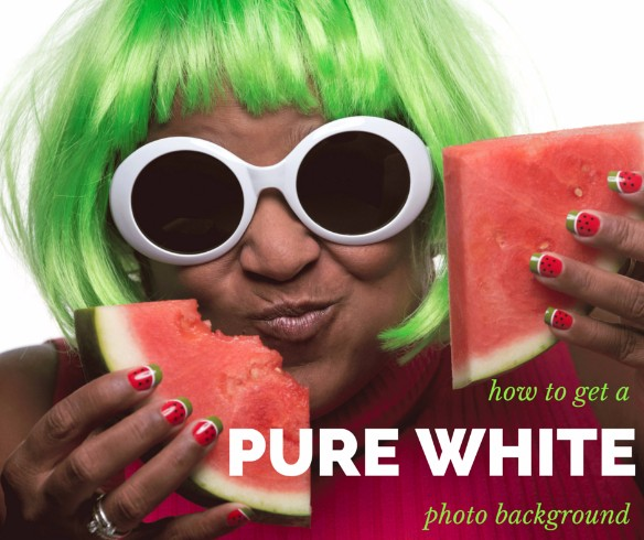 Pure White Photo Background