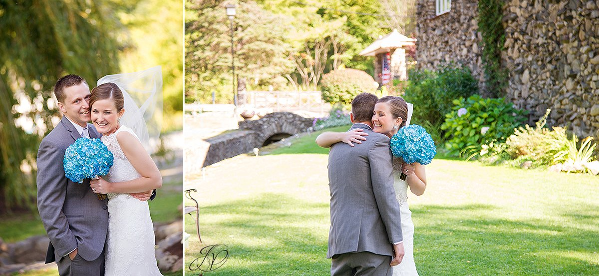 bride and groom reveal albany wedding photographer