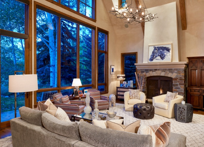 Transitional Colorado Home Blailock Design Magnificent Colorado Home Design