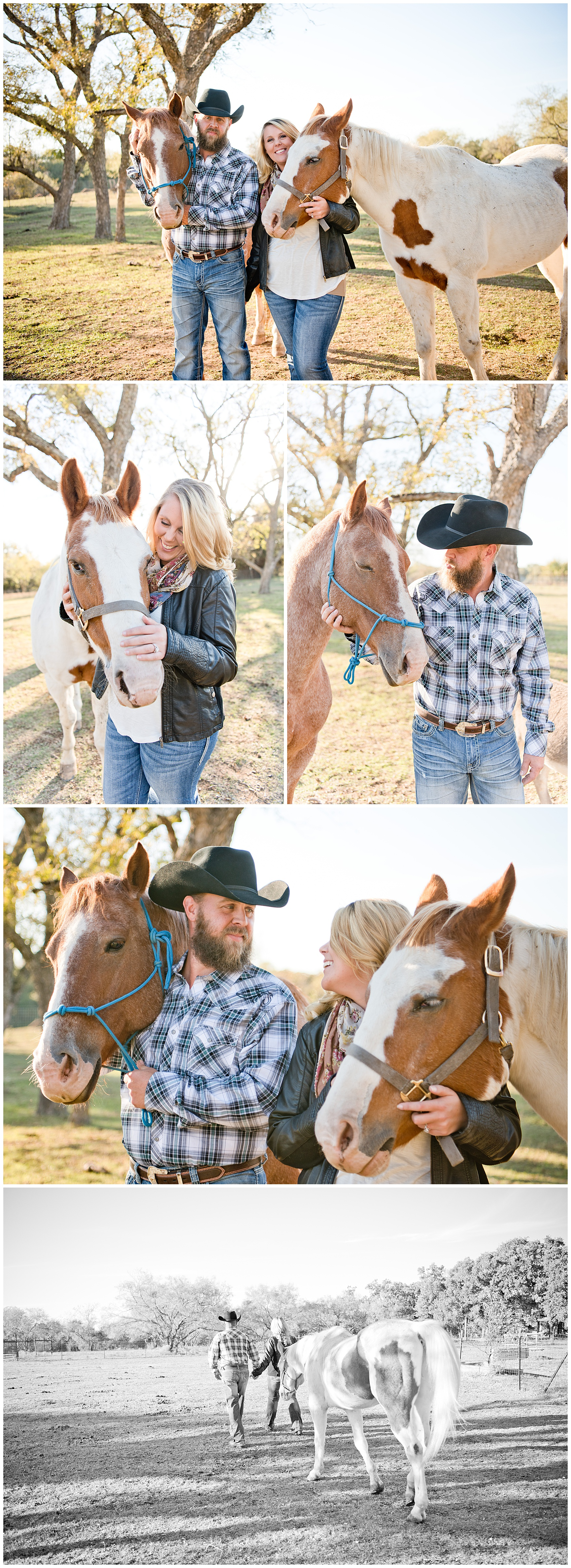 Horse Engagement Session Texas