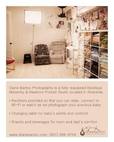 the newborn portrait studio