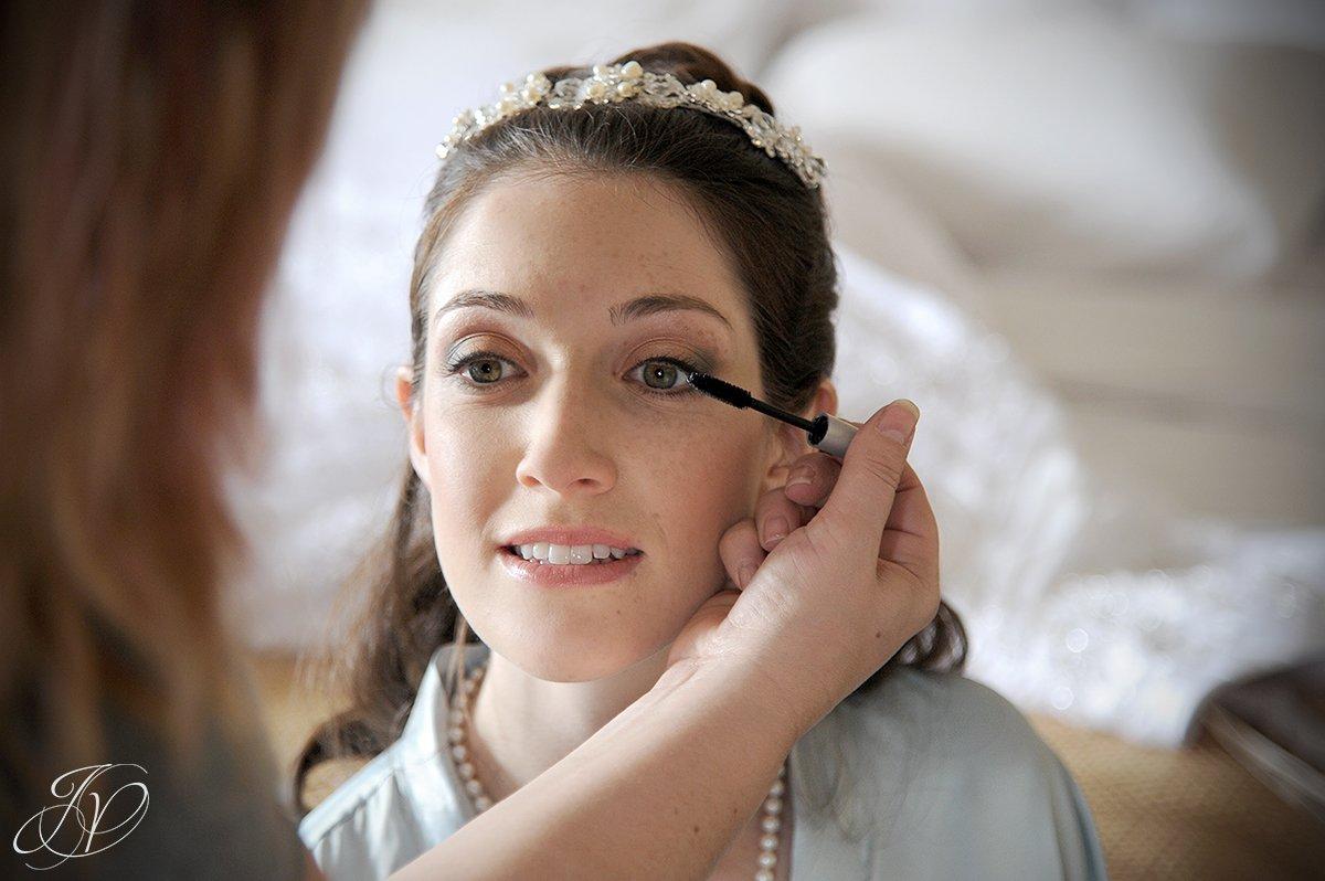 bride final touches photo, bride makeup photos, The Canfield Casino wedding, Saratoga Wedding Photographer, wedding detail photo, pre wedding photos
