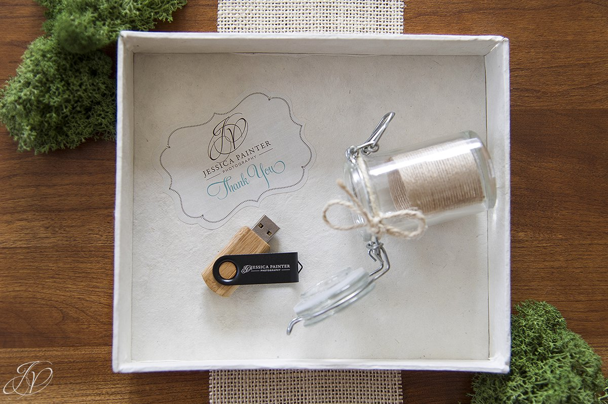 personalized usb drive, custom usb drive in mason jar, custom wedding packaging, personalized wedding photography packaging, unique wedding photography packaging