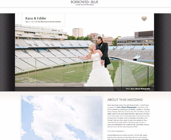 charlotte nc featured published wedding photographer raleigh durham borrowed & blue blog photo