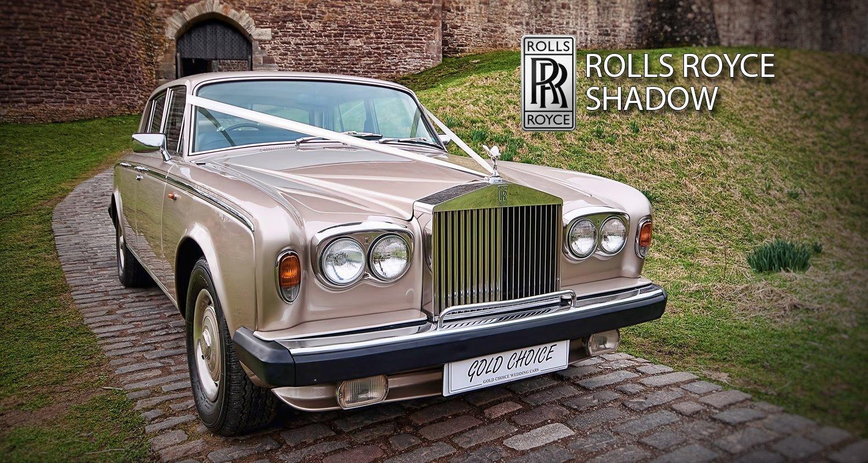 Gold Choice Wedding Cars Rolls Royce Glasgow Wedding Cars