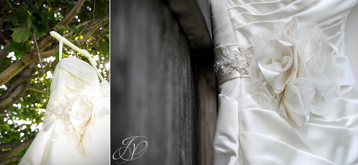 wedding gown detail photo, Waters Edge Lighthouse, Schenectady Wedding Photographer,wedding detail photo