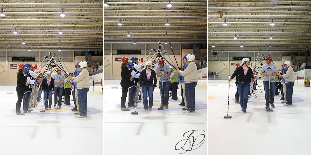 curling challenge at lake placid olympic center, Lake Placid Wedding Photographer, Lake Placid engagement Photographer, lake placid Engagement Session