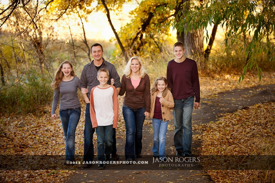 fall family portraits jason rogers photography