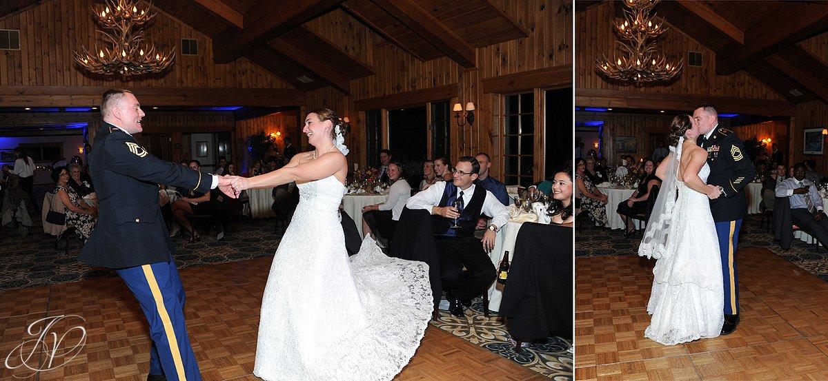 first dance photo, Lake Placid Wedding Photographer, lake placid wedding, reception detail photos, Wedding at the Lake Placid Crowne Plaza