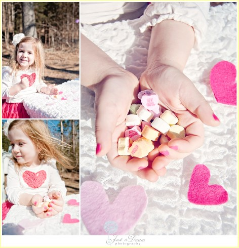 just a dream photography valentines day candy Charlotte children photographers photo