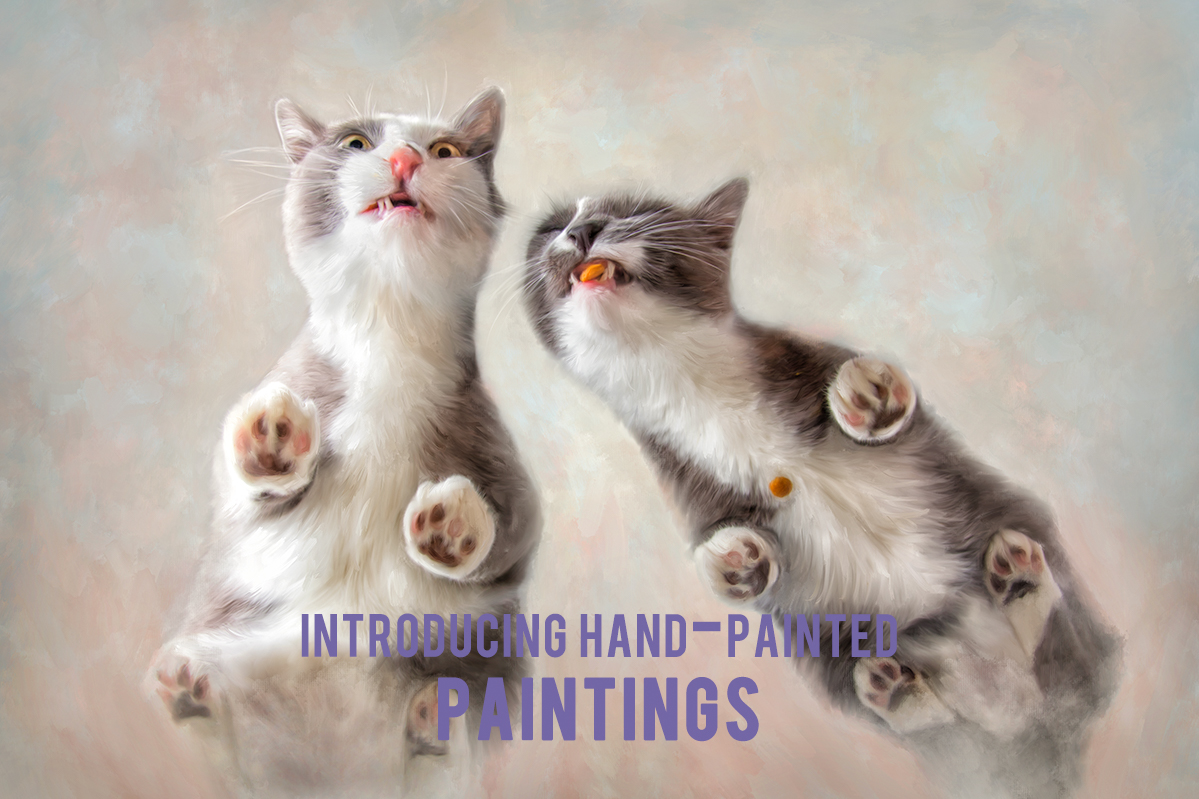Hand-Painted Paintings from Photographs