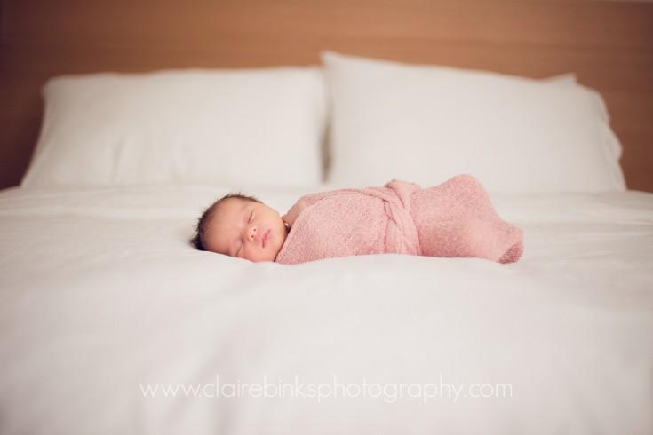 Toronto Newborn Photographer - Welcoming baby V - Claire Binks Photography