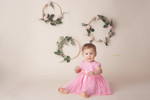 Ava's Cakesmash Session / Charlotte Baby Photographer