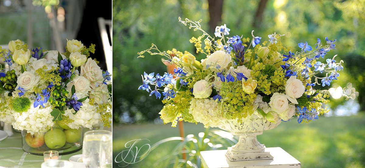 reception detail photo, riverstone manor, schenectady wedding photographer