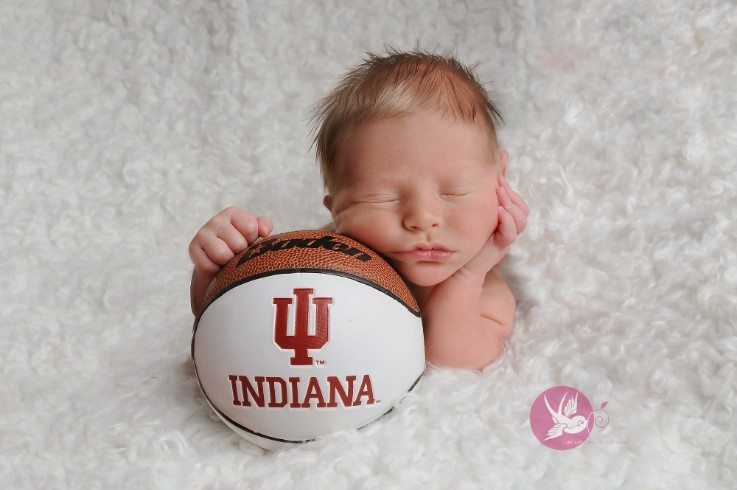 Little buddy, big dreams   I   Bloomington, IN newborn photographer