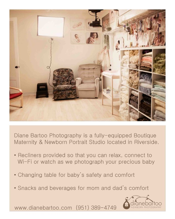 Riverside Newborn Photography Studio
