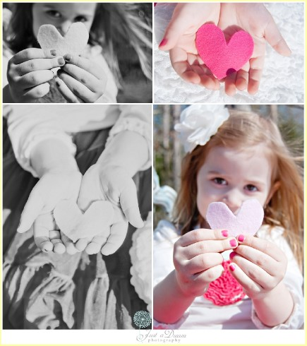 just a dream photography heart session NC children photographers photo