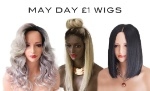 MAY DAY £1 WIGS!!!!