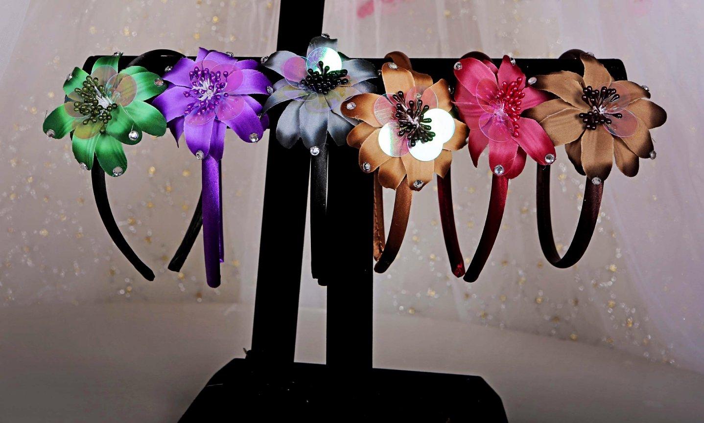 Hawaii Flower Headband Stamos Fine Art
