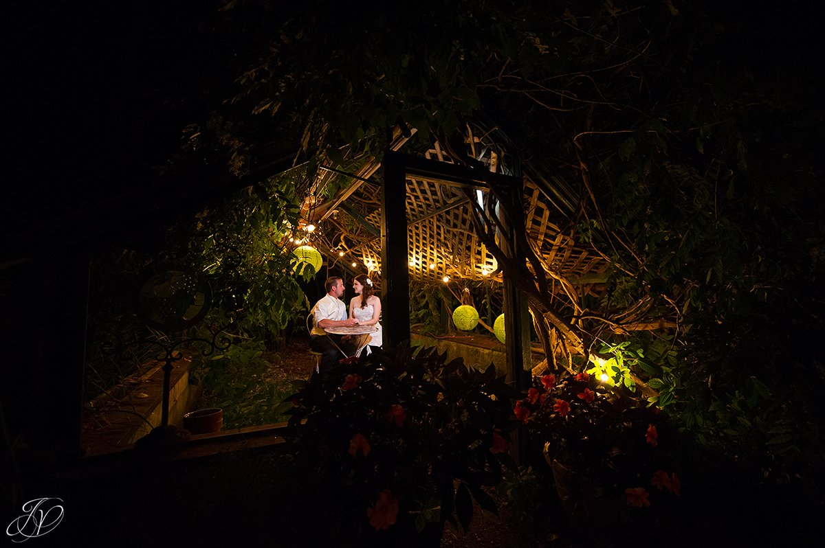 wedding night shots, unique night shots