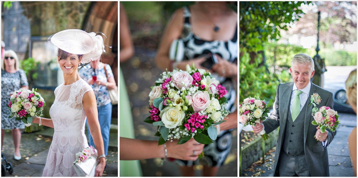 Ormskirk wedding flower details