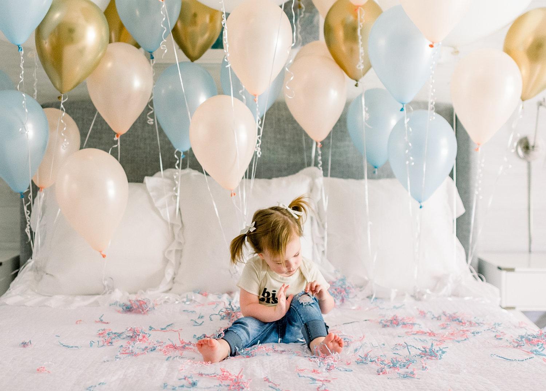 big sister, big sister tee, big sister t-shirt for toddler, gender balloons, Rya Duncklee