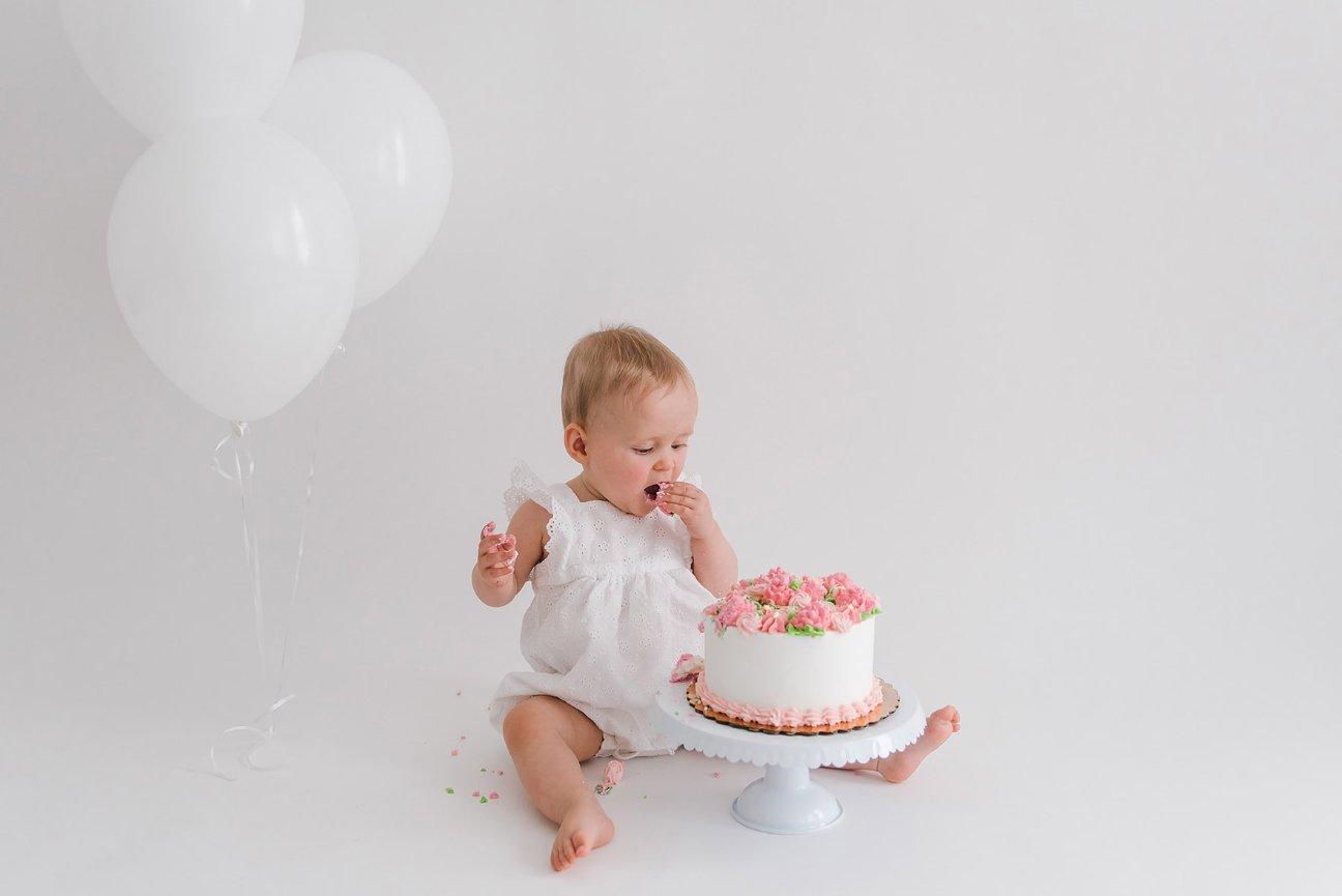 Brilliant Boston Baby Photography First Birthday Cake Smash Funny Birthday Cards Online Inifodamsfinfo