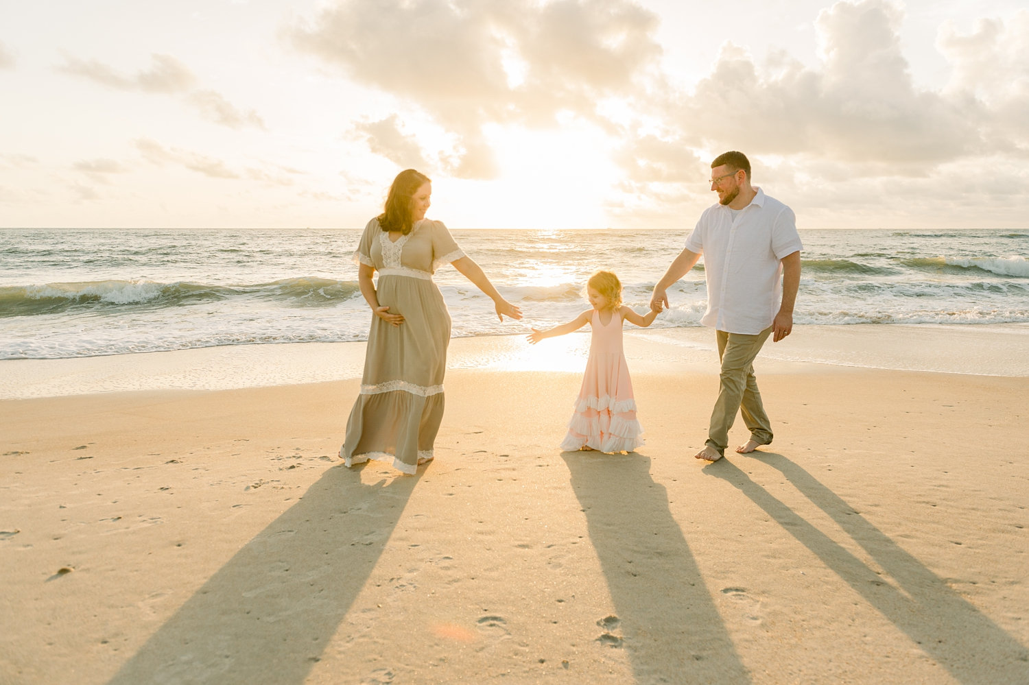 family maternity photographer, Saint Augustine family maternity photography